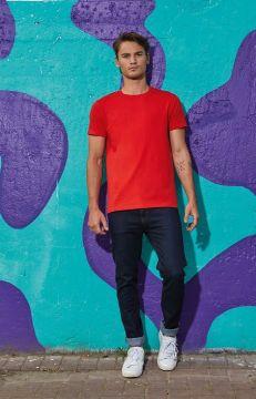 T shirt homme E190 rouge