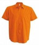 Chemise homme orange
