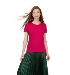 T shirt femme E190 fuschia