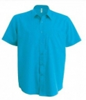 Chemise homme turquoise
