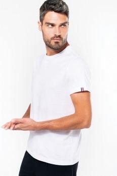 T-shirt Bio H - Origine France Garantie - blanc