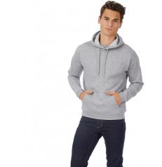Sweatshirt capuche ID.203 heather grey