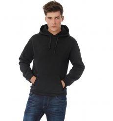Sweatshirt capuche ID.003 noir
