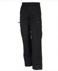 Pantalon poche H noir