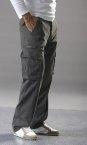 Pantalon poche H kaki