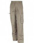 Pantalon poche H beige