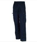 Pantalon poche H marine