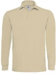 Polo heavymill homme beige