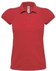 Polo heavymill femme rouge