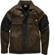Veste grafter duo tone marron