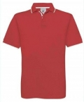 Polo sport rouge