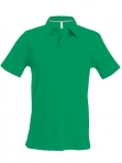 Polo manches courtes homme vert kelly, kariban