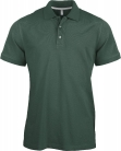 Polo manches courtes homme vert foret, kariban