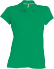 Polo manches courtes femme vert kelly, kariban