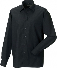 Chemise H ML popeline polycoton Russel