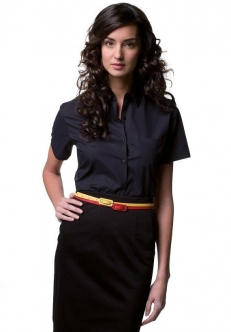 Chemise popeline polycoton femme MC russell