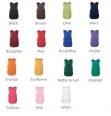 Les couleurs pour le tablier chasuble
