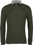 Pull col camioneur vert militaire - olive
