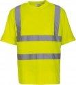 T-shirt manches courtes haute visibilité jaune YOKO