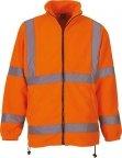 Veste polaire haute visibilité orange YOKO