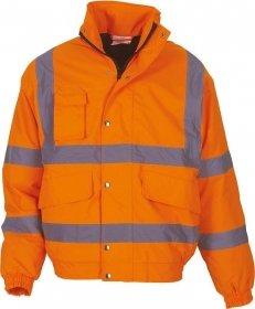 Blouson haute visibilité orange YOKO