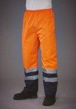 Surpantalon haute visibilité imperméable orange marine YOKO