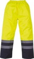 Surpantalon haute visibilité imperméable jaune marine YOKO