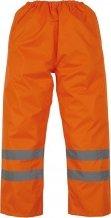 Surpantalon haute visibilité imperméable orange YOKO