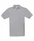 Polo H Safran heather grey