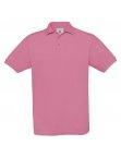 Polo H Safran pixel pink