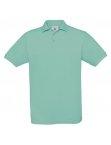 Polo H Safran pixel turquoise
