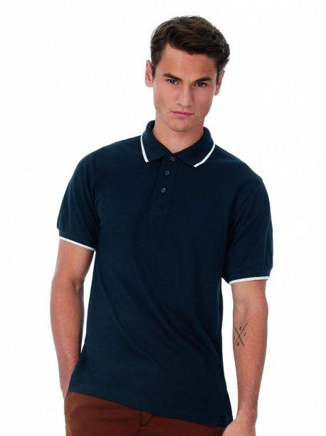 Polo sport bleu marine