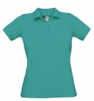 Polo F Safran turquoise