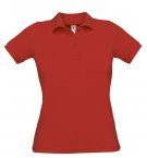 Polo F Safran rouge