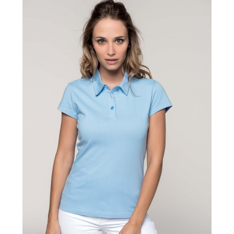 Polo Jersey femme